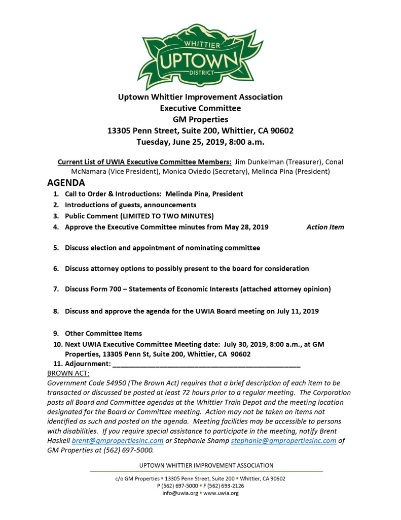 thumbnail of Executive Committee Agenda Packet 06-25-2019