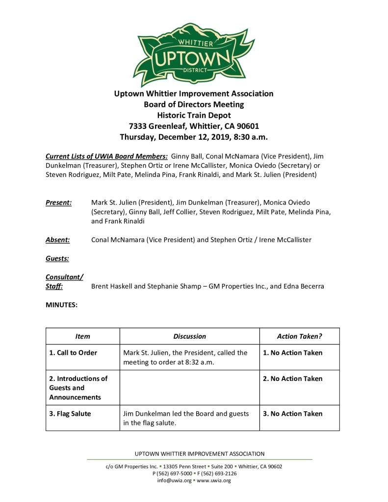 thumbnail of UWIA Board Meeting Minutes 12-12-2019 final