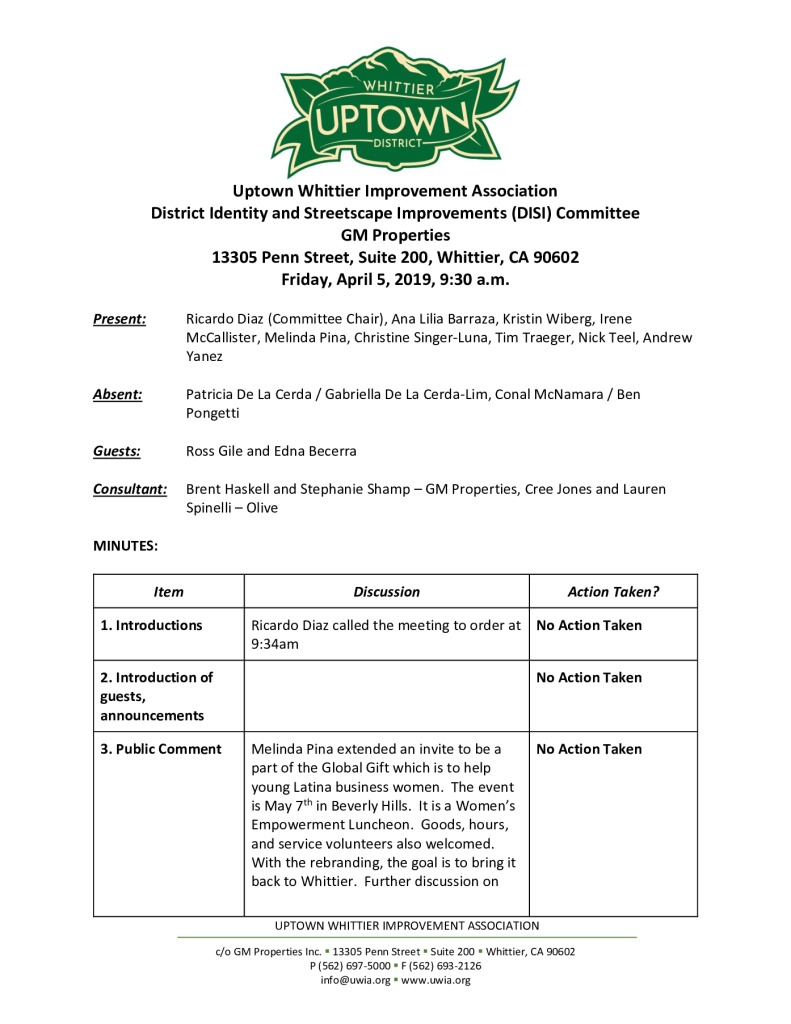 thumbnail of UWIA DISI Committee Meeting Minutes 04-05-2019 final
