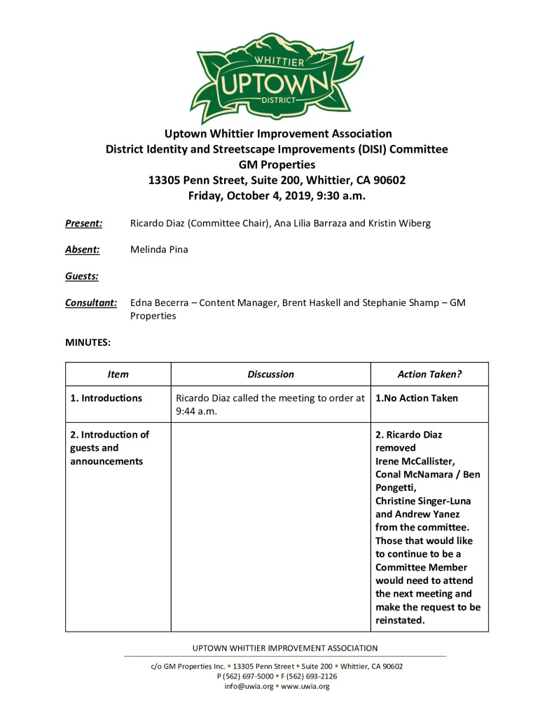 thumbnail of UWIA DISI Committee Meeting Minutes 10-04-2019 final