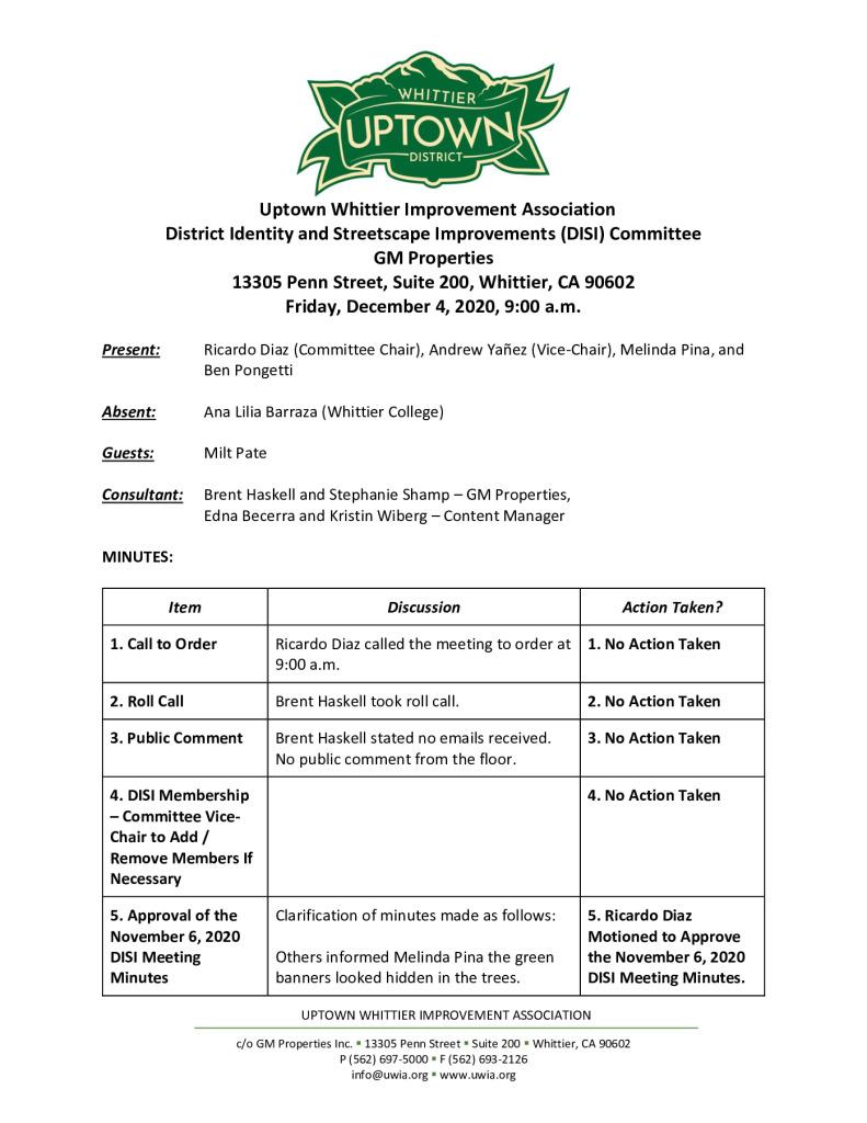 thumbnail of UWIA DISI Committee Meeting Minutes 12-04-2020 final