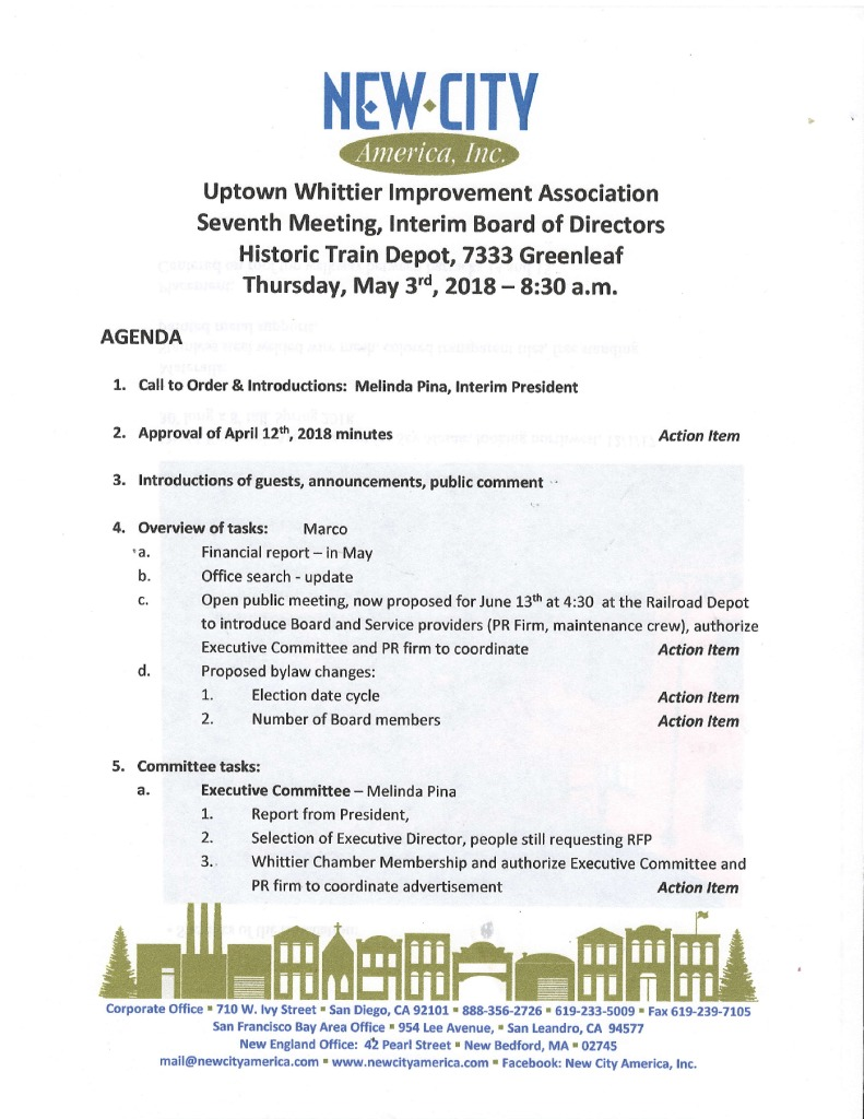 thumbnail of Board Meeting Agenda 05-03-2018