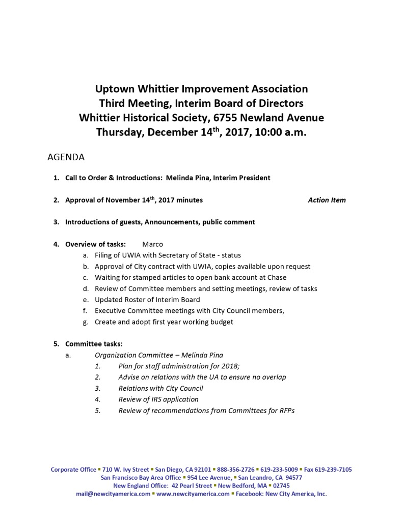 thumbnail of Interim Board Meeting Agenda Packet 12-14-2017