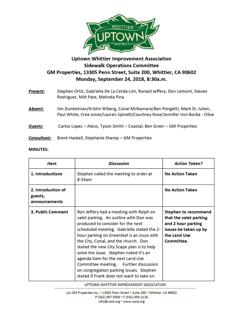 thumbnail of Sidewalk Operations Committee Minutes 09-24-2018