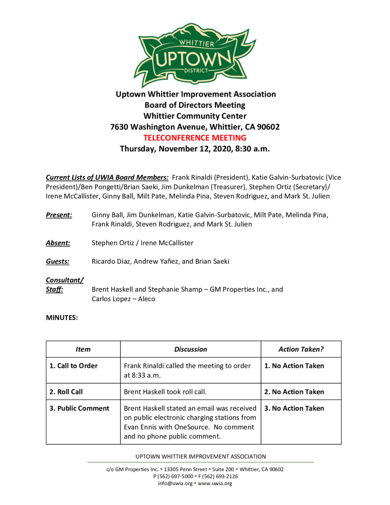 thumbnail of UWIA Board Meeting Minutes 11-12-2020 final
