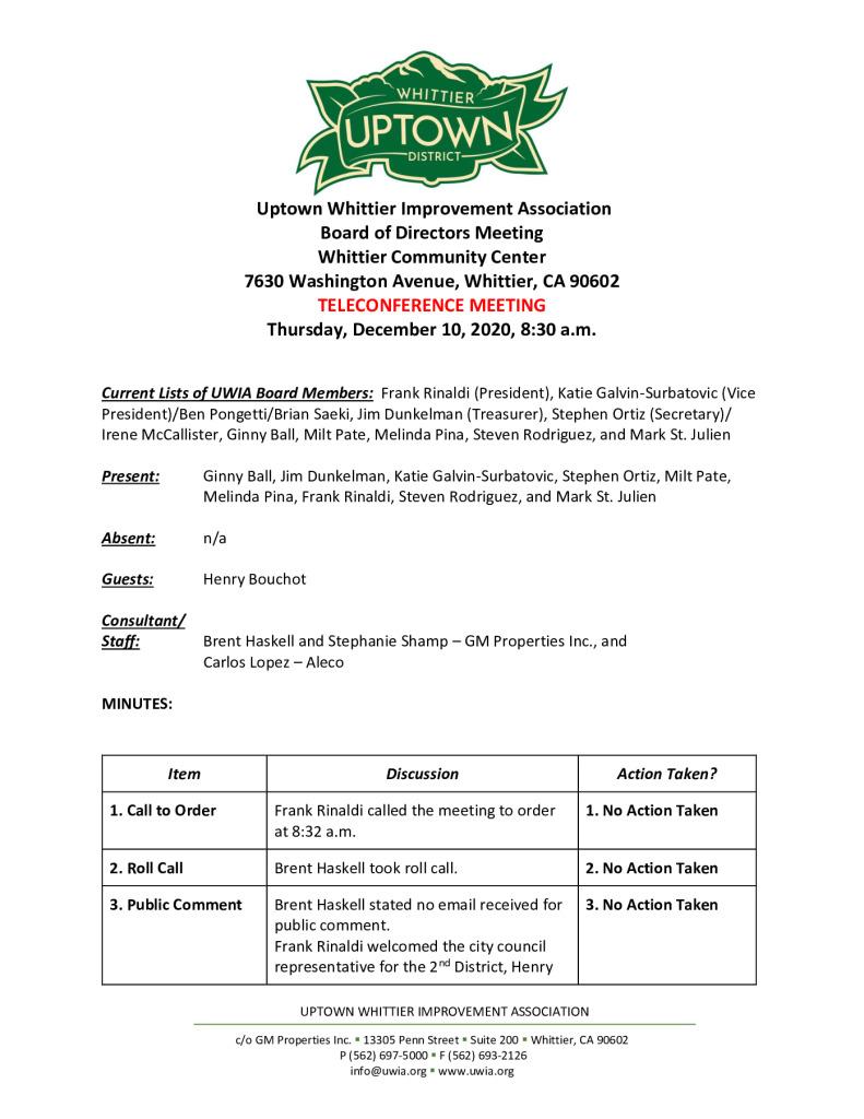 thumbnail of UWIA Board Meeting Minutes 12-10-2020 final