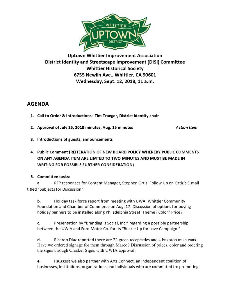 thumbnail of UWIA DISI Committee Agenda 09-12-2018