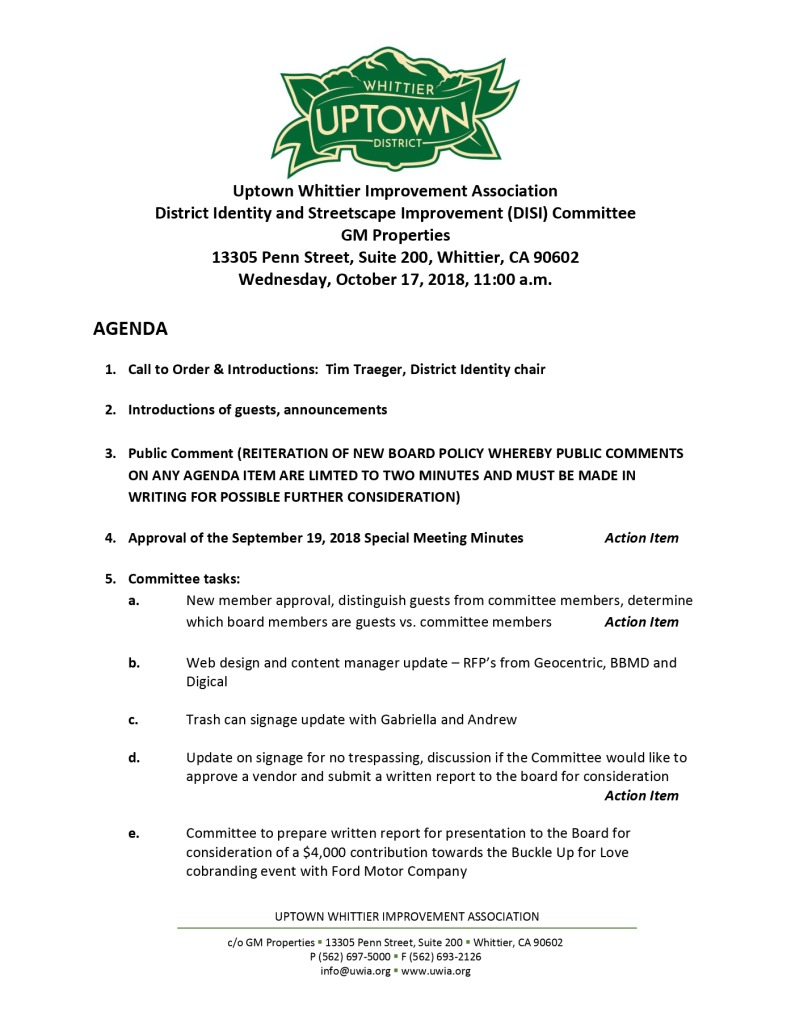 thumbnail of UWIA DISI Committee Agenda 10-17-2018