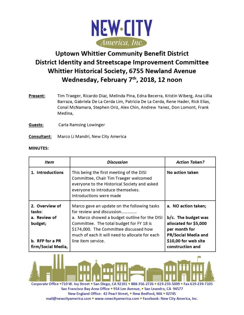 thumbnail of UWIA DISI Committee Minutes 02-07-2018