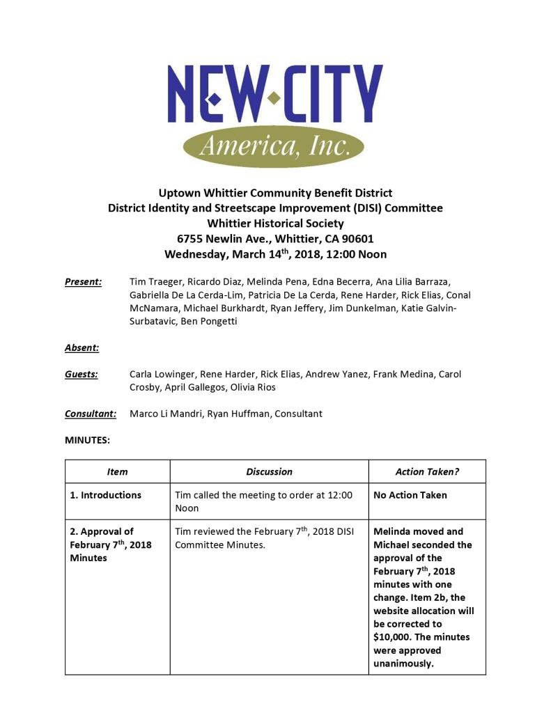 thumbnail of UWIA DISI Committee Minutes 03-14-2018