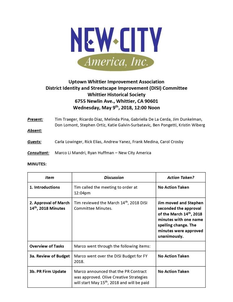 thumbnail of UWIA DISI Committee Minutes 05-09-2018