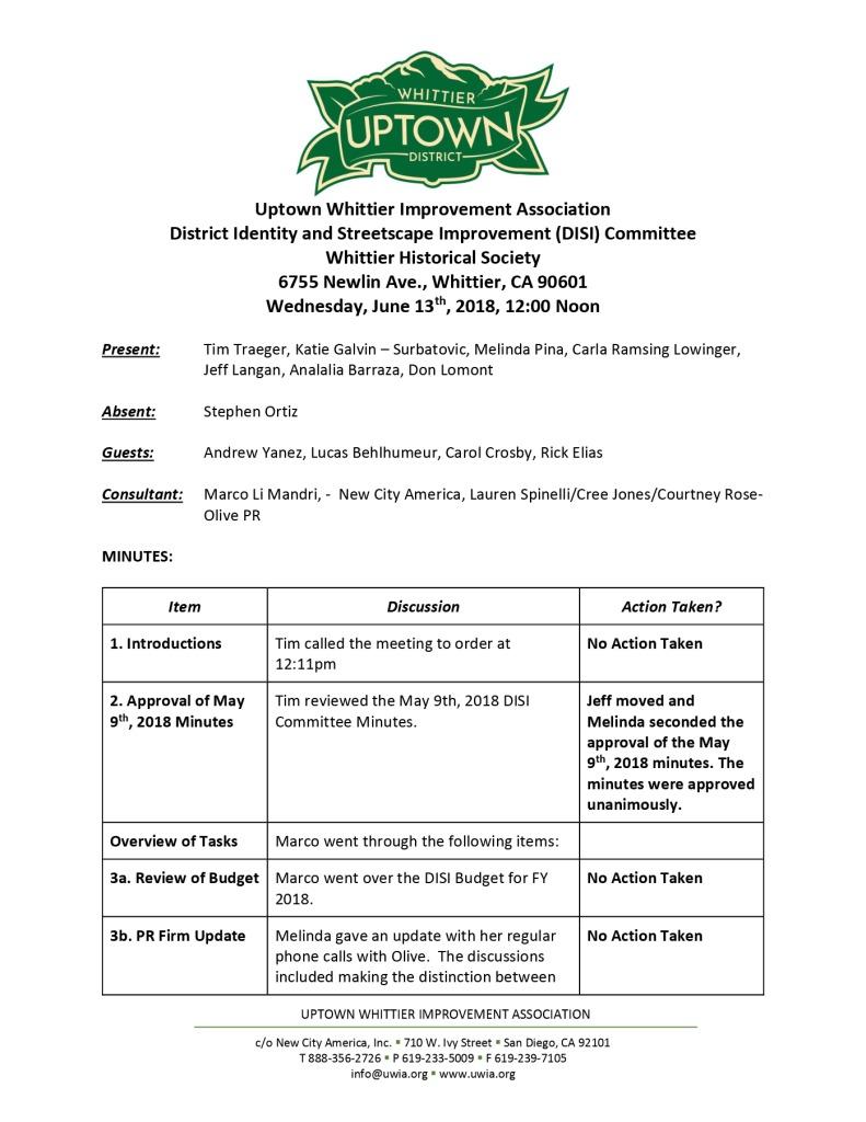 thumbnail of UWIA DISI Committee Minutes 06-13-2018