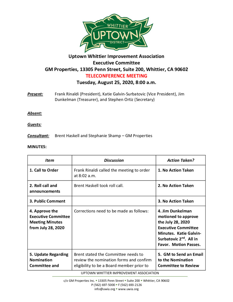 thumbnail of UWIA Executive Committee Meeting Minutes 08-25-2020 final (1)