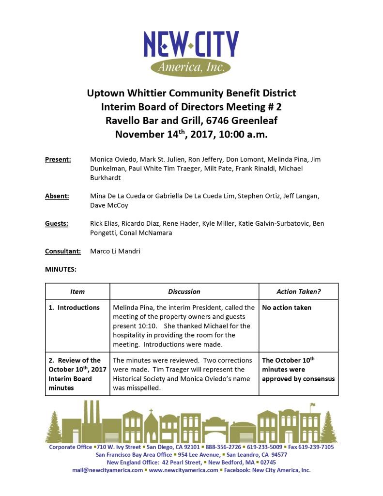 thumbnail of UWIA Interim Board Minutes 11-14-2017